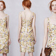 Leifsdottir's Aurelian Brocade Dress