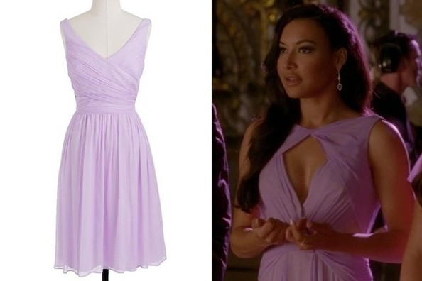 A Lavender Dress Like Naya Rivera's on 'Glee'