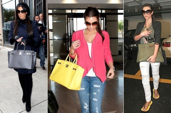 Kim Kardashian's Major Bags