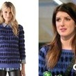 Shenae Grimes' Striped Sweater on '90210'