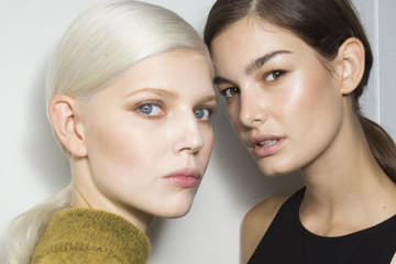 The Beauty Trend to Steal from the Runways: Sexy Sweat
