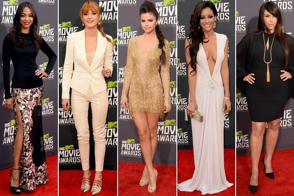The 2013 MTV Movie Awards - Best & Worst Dressed