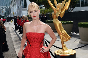 Ladies in Red at the 2014 Emmy Awards