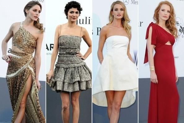 The Best Dressed at the amfAR Gala