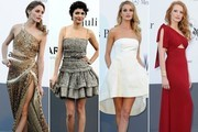 The Best Dressed at the 2013 amfAR Gala