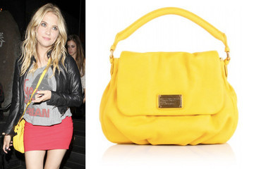 Neon Nights: Ashley Benson Carries Marc by Marc Jacobs