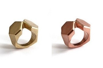 StyleBistro STUFF: K/ller Plated Mirrored Rings