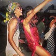 Chanel Iman Gets Down at Coachella