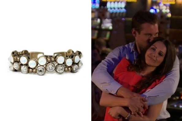 Andi Dorfman's Antique Gold Bracelet on 'The Bachelorette'