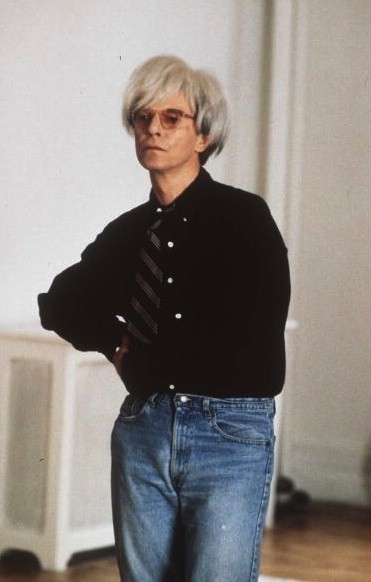 David Bowie plays Andy Warhol in 'Basquiat' circa 1996