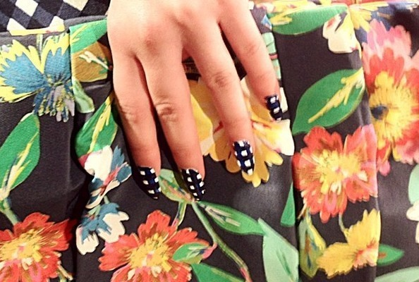 Best Spring 2013 Runway Nails - Kate Spade