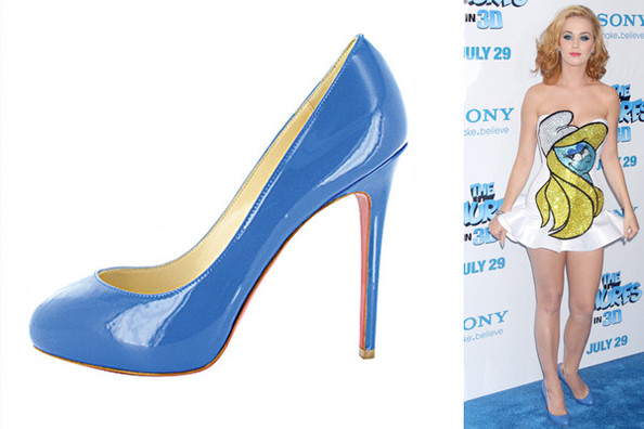 nouvelle collection 2c110 e4da1 Katy Perry in New Declic Pumps - Celebrities Love Christian ...