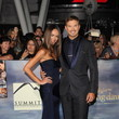 Sharni Vinson and Kellan Lutz  at 'The Twilight Saga: Breaking Dawn - Part 2' Premiere in Los Angeles