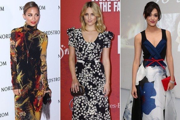 10 Unforgettable Floral Gowns