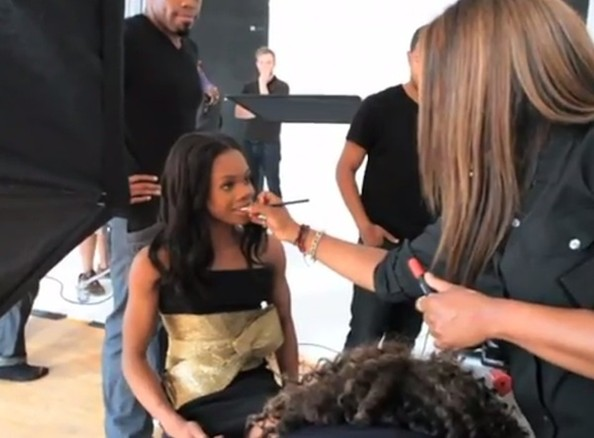 Watch: Behind-the-Scenes at Gabby Douglas' Essence Magazine Shoot