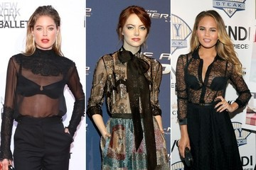 Celebs are All About Showing Their Bras—Would You?