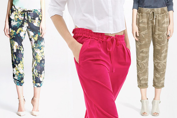 10 Pairs of Drawstring Pants for Summer