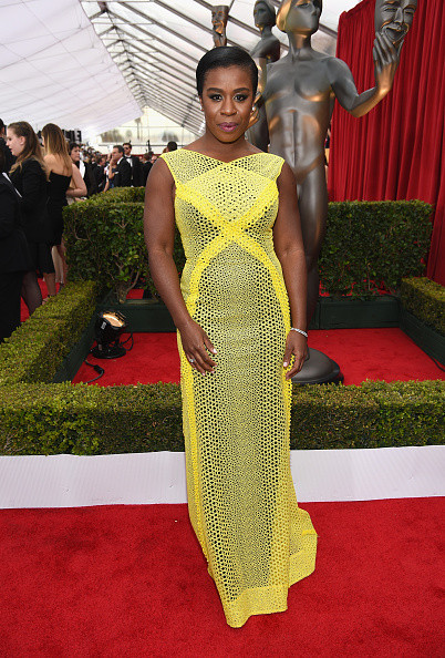 Uzo Aduba in Angel Sanchez