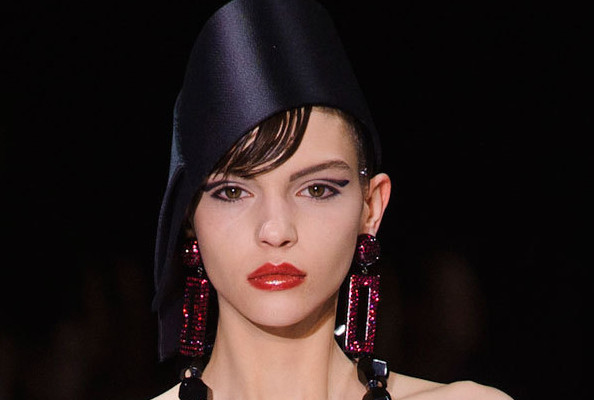 Armani Privé's Glass-Like Lips