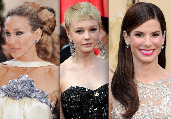 Winning Hairstyles at the 2010 Oscars