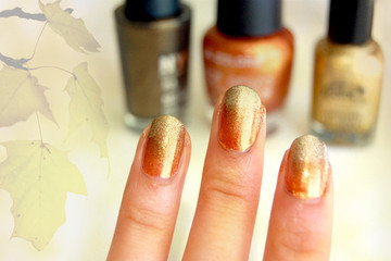 Thanksgiving Nail Art to Inspire