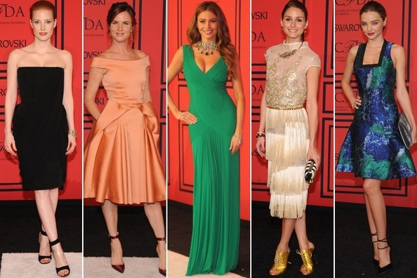 Best Dressed at the CFDA Fashion Awards 2013