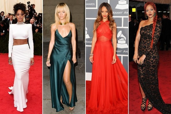 Style File: Rihanna's 10 Best Red-Carpet Looks Ever