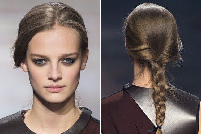 Lanvin Fall 2015 The Best Beauty Looks At Paris Fashion Week Fall 2015 Stylebistro