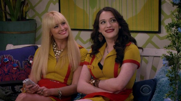 Caroline and Max from 'Two Broke Girls'