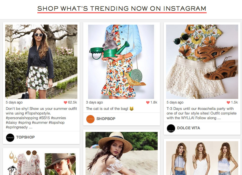 Shopstasy Turns Brand's Instagram Photos Into a Virtual Mall