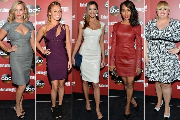 Best Dressed at the 2013 EW & ABC Upfronts Party in New York