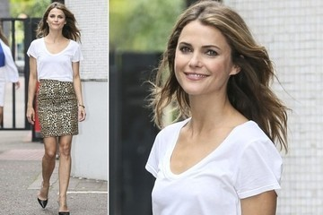 Keri Russell's Fresh Twist on Animal Prints