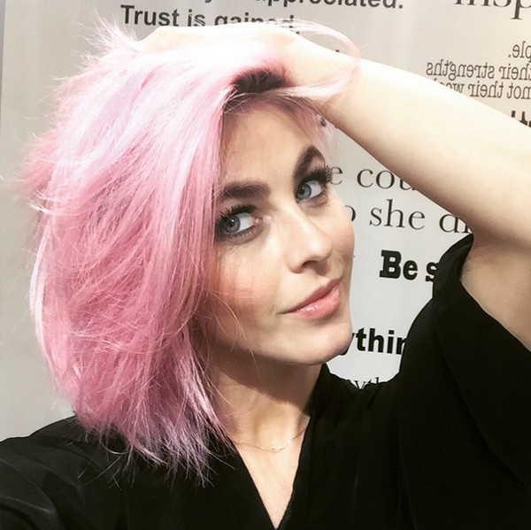 Julianne Hough's Bubblegum Pink