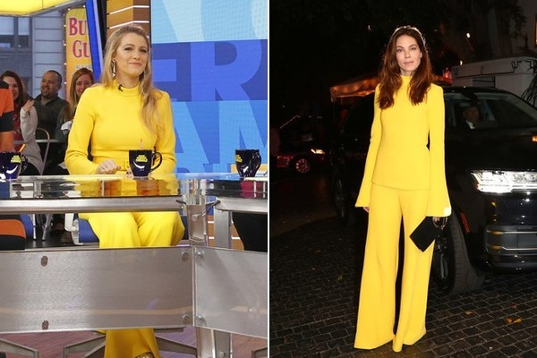 Blake Lively and Michelle Monaghan in Brandon Maxwell