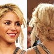 Shakira's Braided Half-Halo