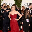 Jennifer Garner Wears Vivienne Westwood at the 2013 Golden Globes