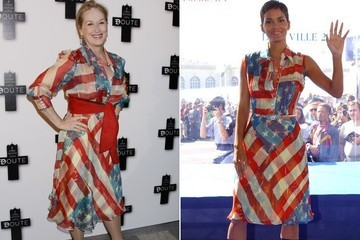 #TBT: Catherine Malandrino's American Flag Dress