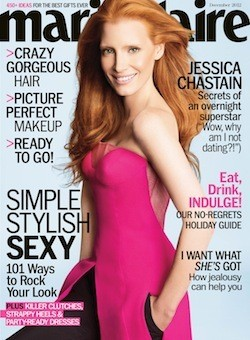 Jessica Chastain Covers Marie Claire