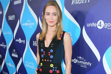 Look of the Day: Emily Blunt's Outfit Juxtaposition