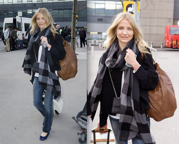 195 Best Airport Style images | Celebrity airport style ...
