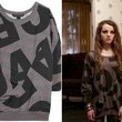 Stefania Owen's Slouchy Top on 'The Carrie Diaries'