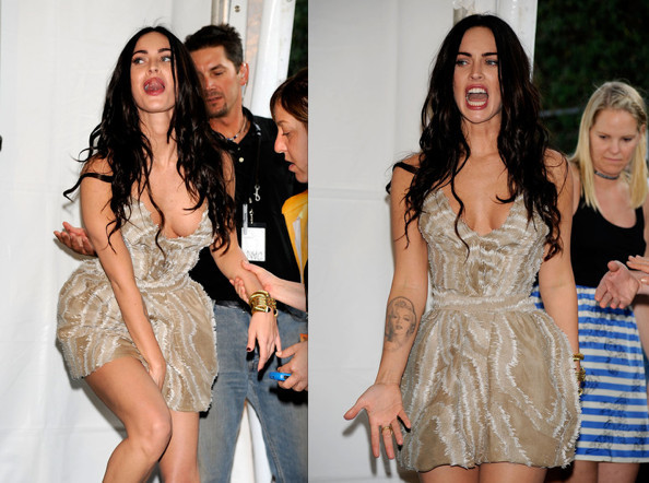 Megan Fox in YSL