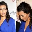 Kim Kardashian's Roughened Fishtail
