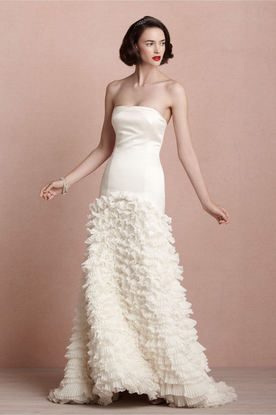 There is only you and me for beholden cascata gown 150 for Anthropologie beholden wedding dress