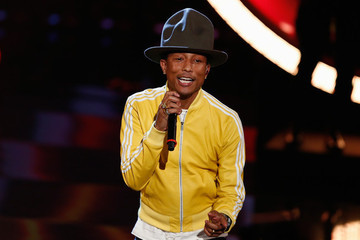 Pharrell Hangs Up His Hat