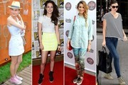Celebs Love High-Fashion Sneakers