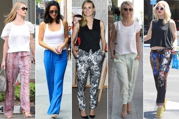 Celebrity Trend We Love: Chic & Cozy Pants