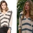 Jes Macallan's Striped Hoodie on 'Mistresses'