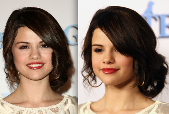 selena gomez hair updos. Selena showed off her mature