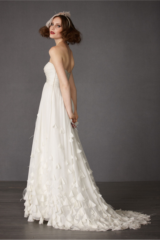 There is only you and me exclusively for beholden for Anthropologie beholden wedding dress